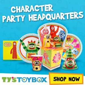 Ty's Toy Box is your character-themed party supply headquarters
