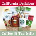 California Delicious-Coffee and Tea Gift Baskets