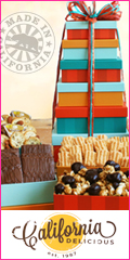 California Delicious Gift Towers