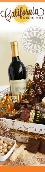 California Delicious Wine Gift Baskets