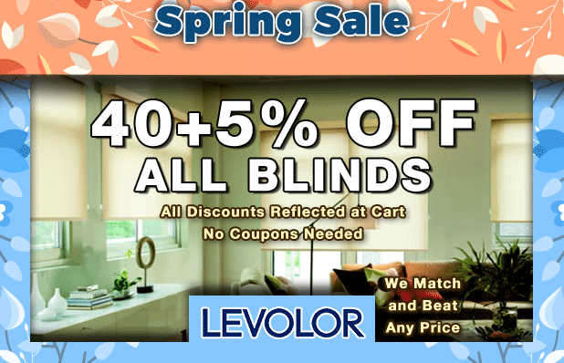 Levolor Blinds Fall Sale