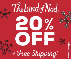 The Land of Nod - 20% Off + Free Shipping