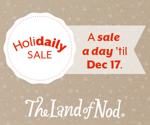 The Land of Nod HoliDAILY Toy Sale