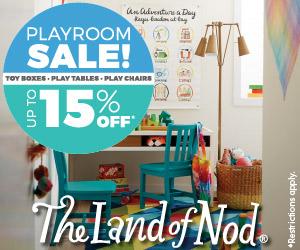 Land of Nod Playroom Sale & Summer Sale