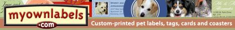 custom pet labels