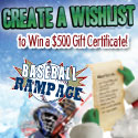 Baseball Rampage Christmas Items