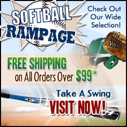 Free Shipping at Softball Rampage