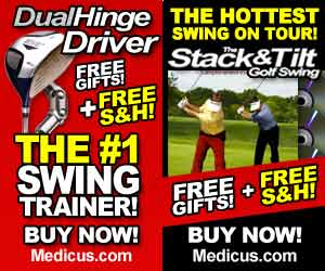 #1 Best Selling Golf Trainer! Limited Time Offer Includes Free Gifts & Free Shipping!
