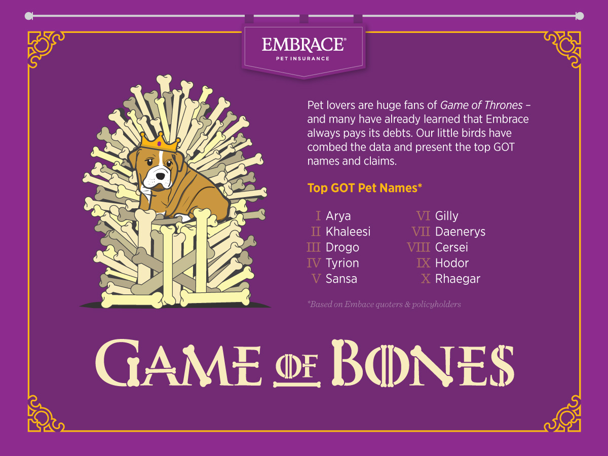 Funny and Clever Game of Thrones Cat Names