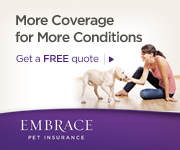 Protect Your Pet with Embrace Pet Insurance Today!