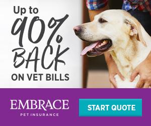 Up to 90% back on vet bills