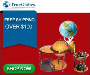 TrueGlobes - Globe Bar, Mova Globes, Buy Globes