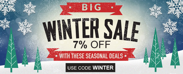 Image of ECollarShop.com 7% Off Big Winter Sale