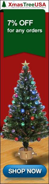 Fiber Optic Tree, Fiber Optic Christmas Tree