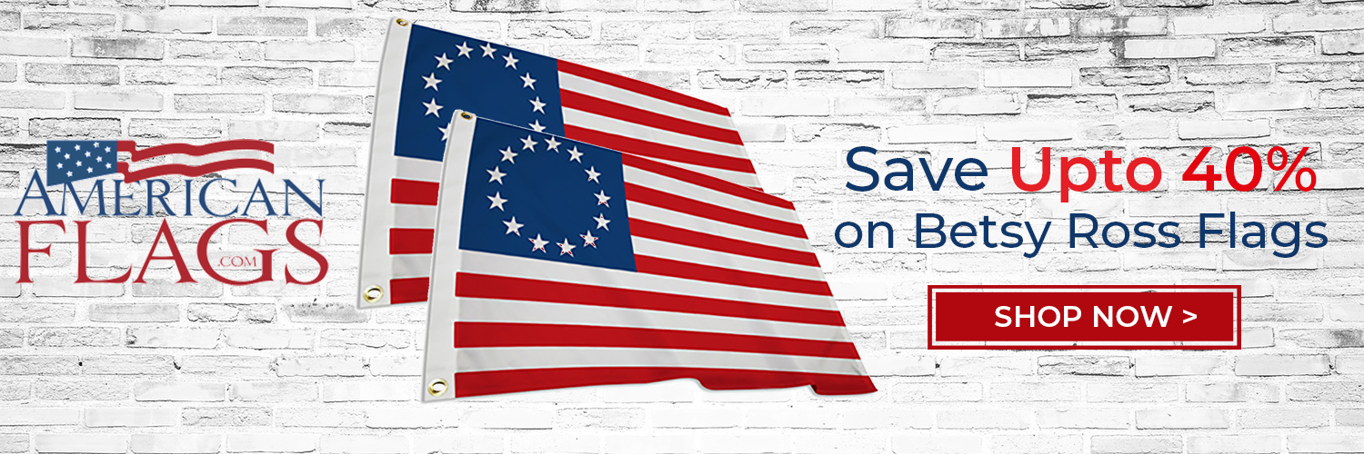 American Flags Betsy Ross 1500x500 banner