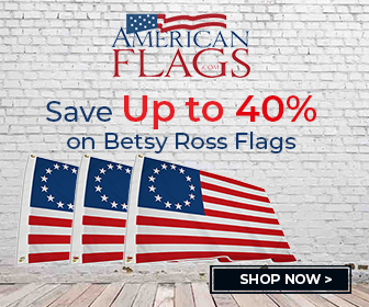 American Flags Betsy Ross 336x280 banner