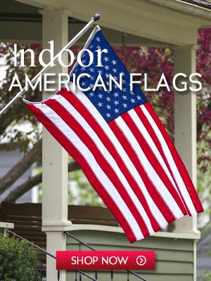 Indoor American Flags 300x400
