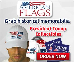 300x250 Trump collectibles banner