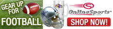 Shop for NFL Gear at OnlineSports.com