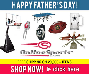 Father's Day gifts at Onlinesports.com