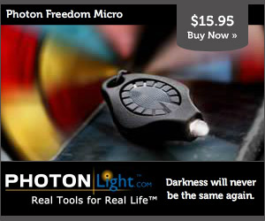 Photon Freedom Micro: Darkness will never be the same again.