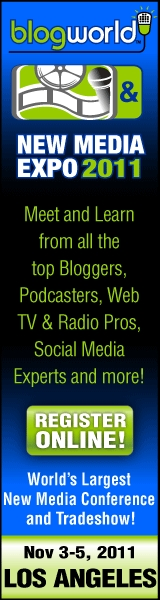 Join me at the BlogWorld & New Media Expo in Las Vegas, Oct 14-16, 2010!