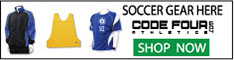 Soccer Uniforms, Goalie Gear at CodeFourAthletics.com