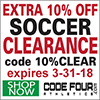 Code Four Athletics Coupon Code