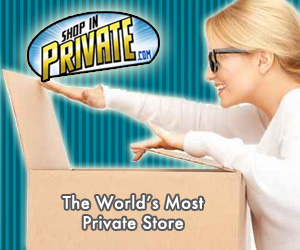 Shop In Private at ShopInPrivate.com - The World's Most Private Store