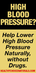 Lower High Blood Pressure Naturally