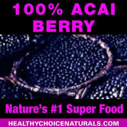 100% Acai Berry