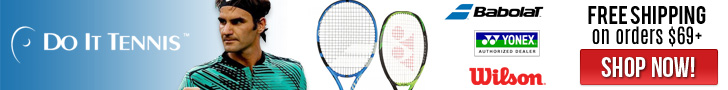 Free Shipping on $69+ at DoItTennis