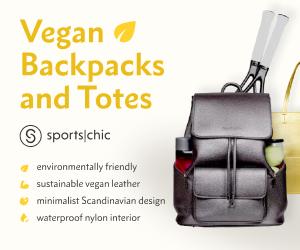 SportsChic Vegan Tennis Bags for Women