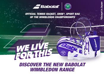 Babolat Limited Edition Wimbledon Gear