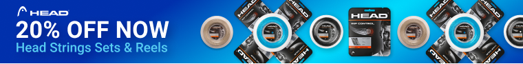 20% Off Head Tennis String and Sets