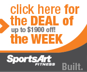 Up to $1900 Off at SportsArt Fitness!