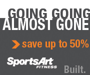 Up to 50% Off at SportsArt Fitness!