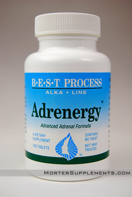 Adrenergy - All-Natural Adrenal Support from mSupplements