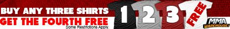 MMA T-Shirt Sale