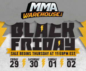 Black Friday Sale! Shop Doorbusters up to 70% Off at MMAWarehouse.com! Offer ends 12/2.