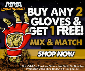 MMA Warehouse Buy 2, Get 1 Gloves