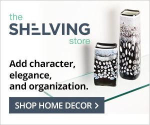 Shop home decor at TheShelvingStore.com