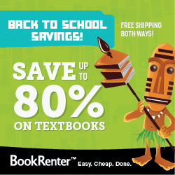 BookRenter Back to School Savings!