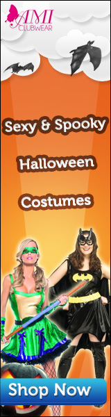 Sexy & spooky Halloween costumes for women AND men at AMIclubwear.com!