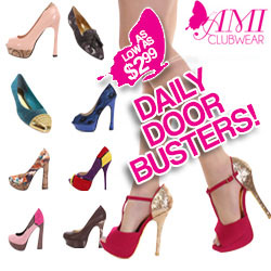 Daily Doorbusters as low as $2.99 at AMIclubwear.com