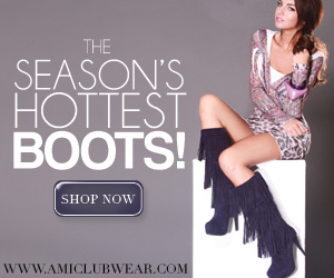Shop the season's hottest boots at AMIclubwear.com