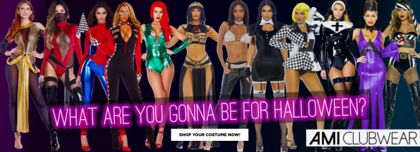 Shop Sexy Halloween Costumes at AMIClubwear.com