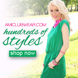 Shop hundreds of NEW styles at AMIclubwear.com