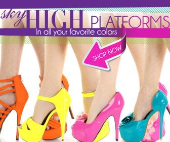 Shop for platform shoes at AMIclubwear.com