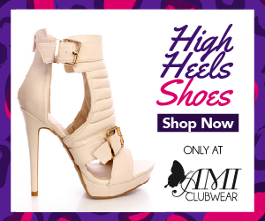 Shop AMIclubwear.com for great deals on fashionable high heel shoes